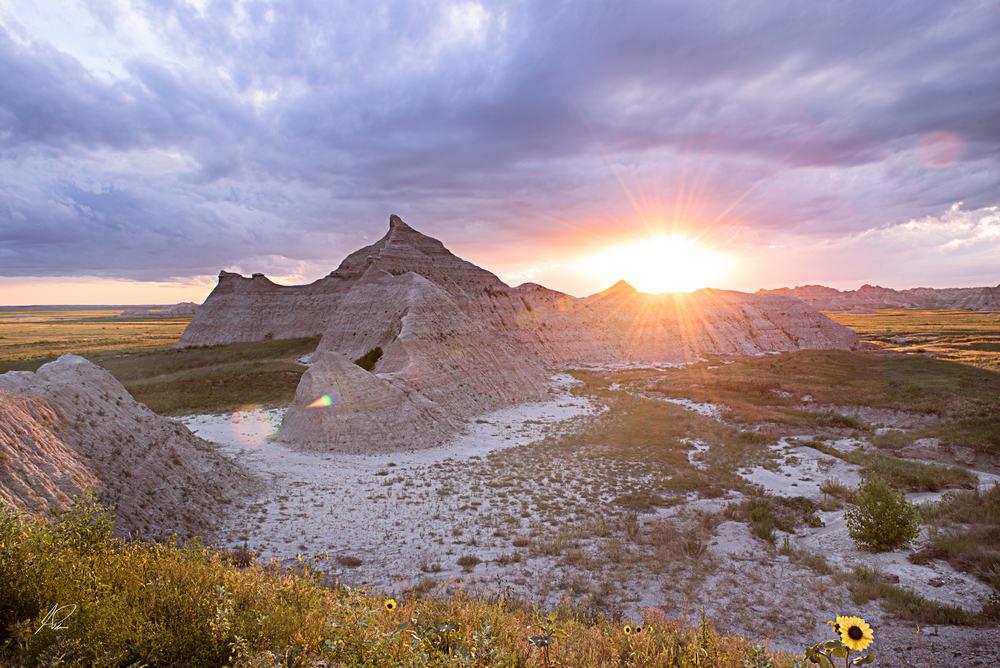 Sunset Badlands