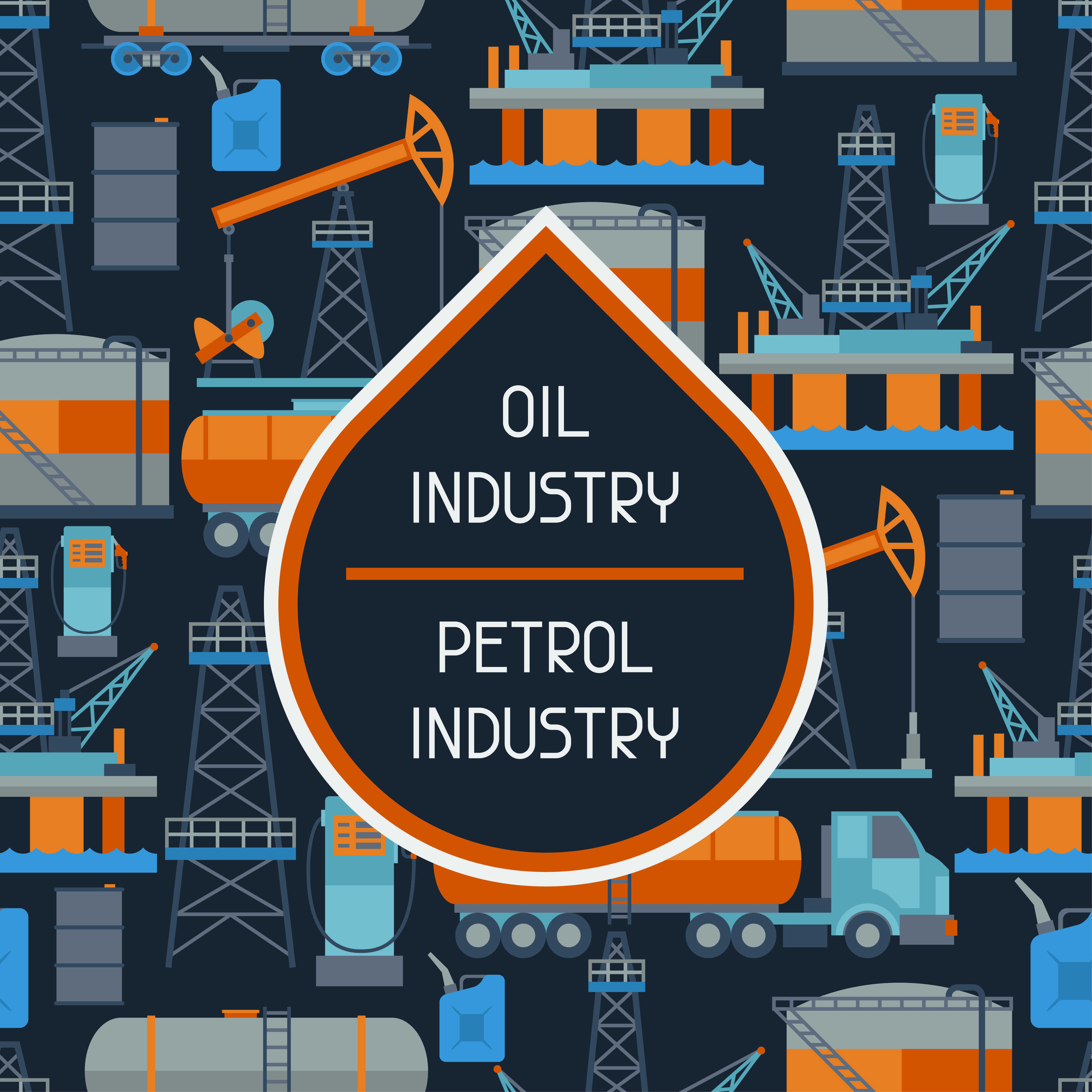 oil industry graphic