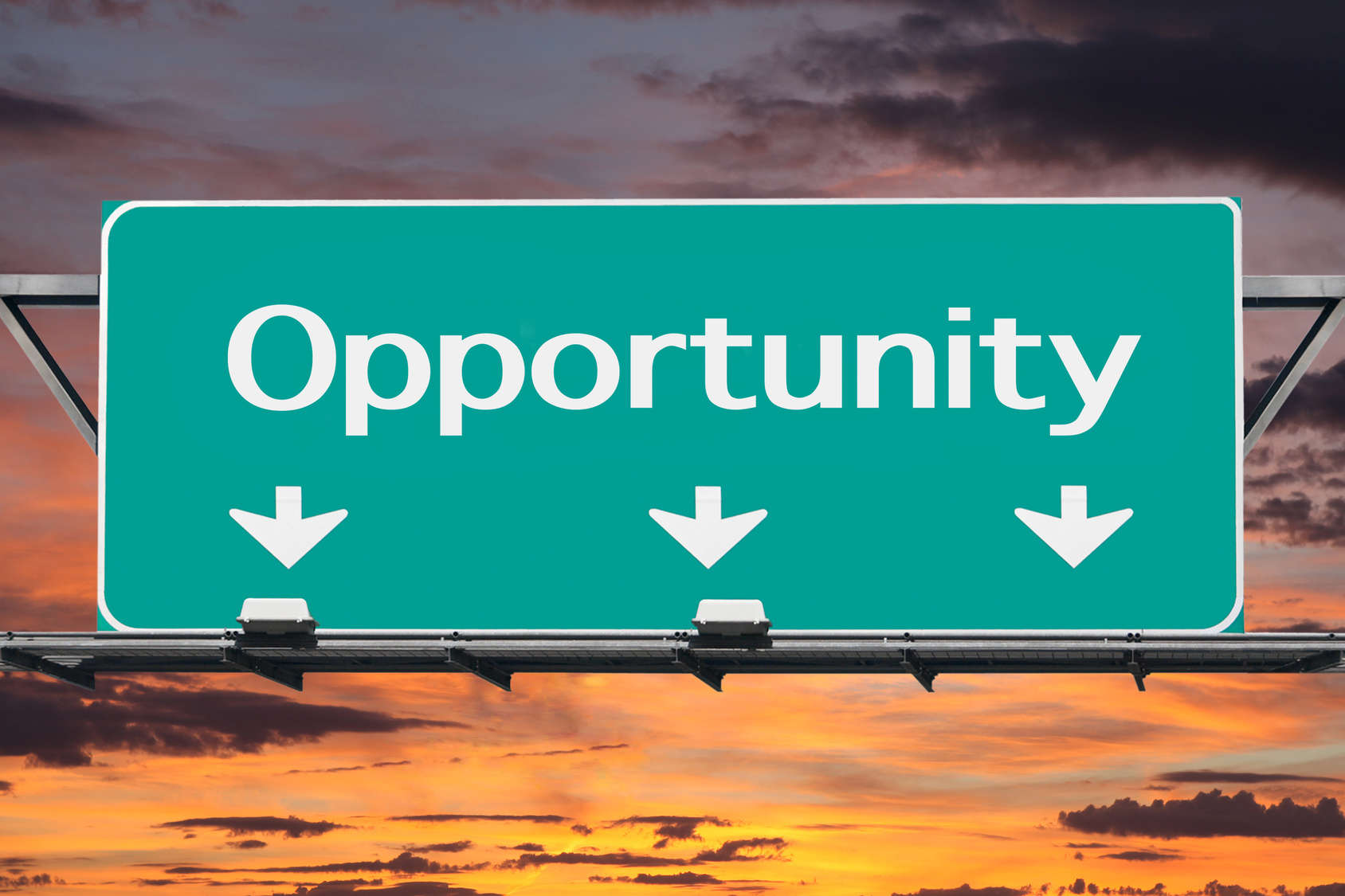 Factoring opportunity sign