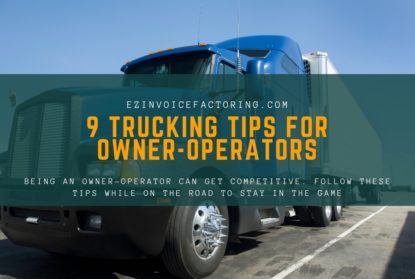 Tips for Owner operators