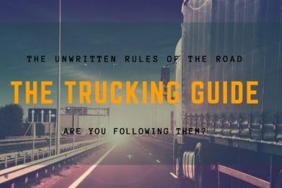 unwritten rules of trucking