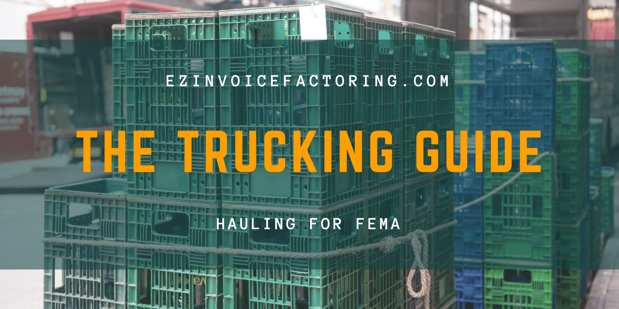 hauling for government contracts
