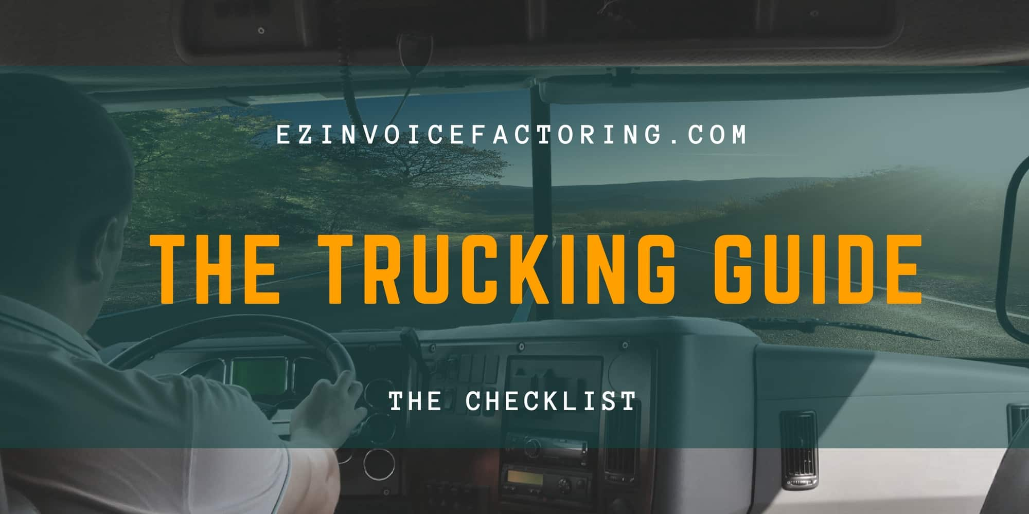 Must-Have Supplies for Every Truck Driver - EZ Invoice Factoring