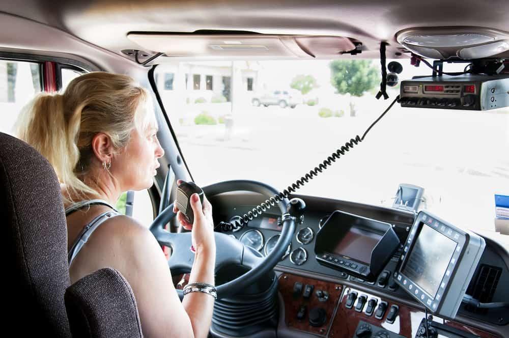 female trucker