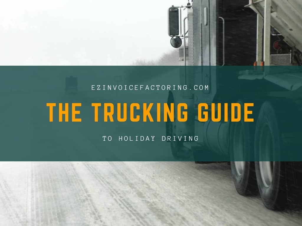 Tips for Truckers Driving during the Holidays