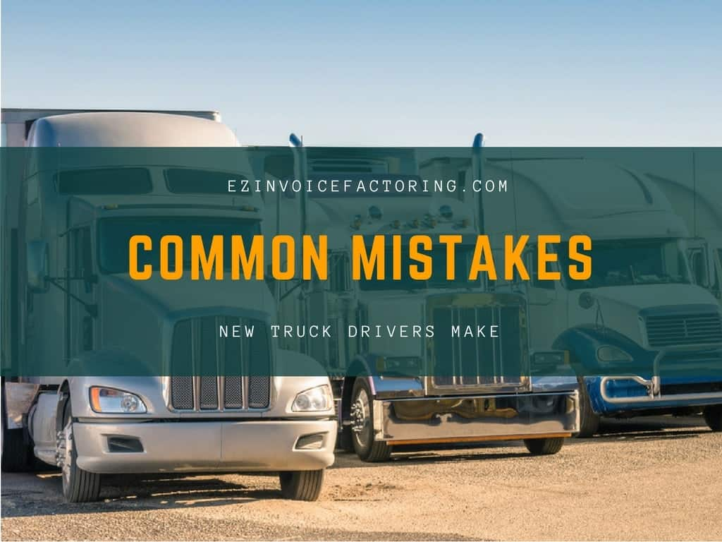 new driver mistakes