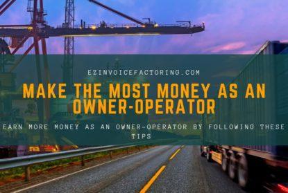 Make more money owner operator